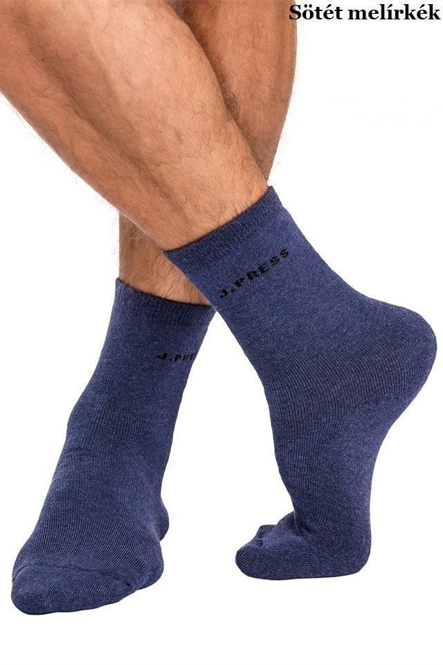 J.Press D040 férfi teli plüss thermo zokni. Akció! cb7dc6e53c