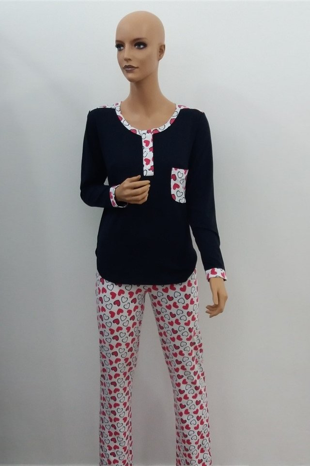 0daea41d45 Ko-Go női pizsama | Simple Fehérnemü